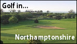 Golf in Northamptonshire