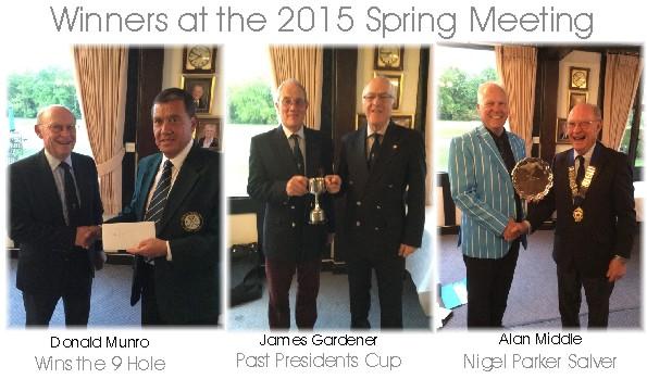 2015 Spring Meeting