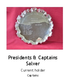 President and Captains Salver